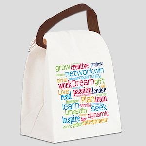 Career Cloud Canvas Lunch Bag