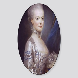 Marie Antoinette Sticker (Oval)