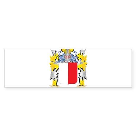 Boni Coat of Arms - Family Crest Bumper Sticker