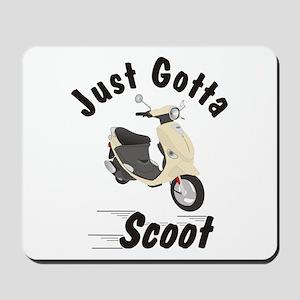 Just Gotta Scoot Cream Buddy Mousepad