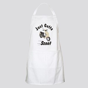 Just Gotta Scoot Cream Buddy BBQ Apron