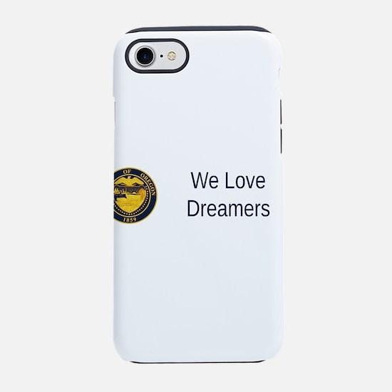 Oregon State Seal #2 iPhone 7 Tough Case