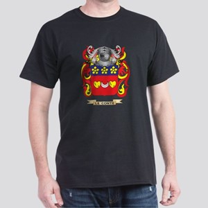 Le-Conte Coat of Arms - Family Crest Dark T-Shirt