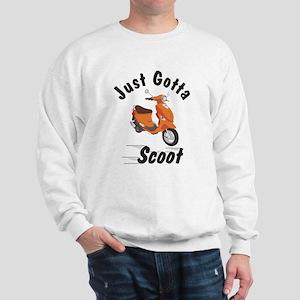 Just Gotta Scoot Orange Buddy Sweatshirt