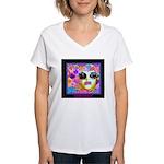 SisterFace Gardens Women's V-Neck T-Shirt