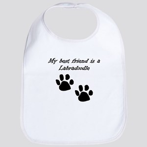 My Best Friend Is A Labradoodle Bib