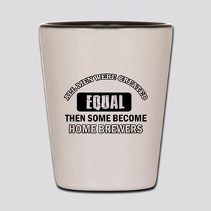 Home Brewers Designs Shot Glass