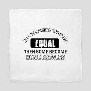 Home Brewers Designs Queen Duvet
