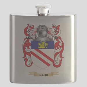 Lehr Coat of Arms - Family Crest Flask