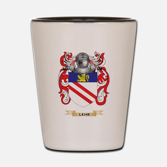 Lehr Coat of Arms - Family Crest Shot Glass