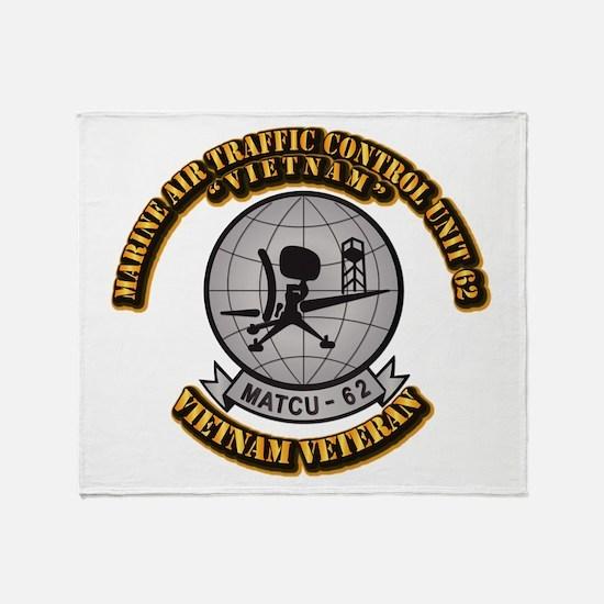 USMC - Marine Air Traffic Control Unit 62 Throw Bl