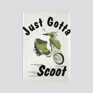 Just Gotta Scoot Italia Buddy Rectangle Magnet