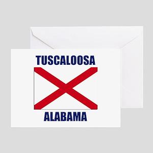 Tuscaloosa Alabama Greeting Card