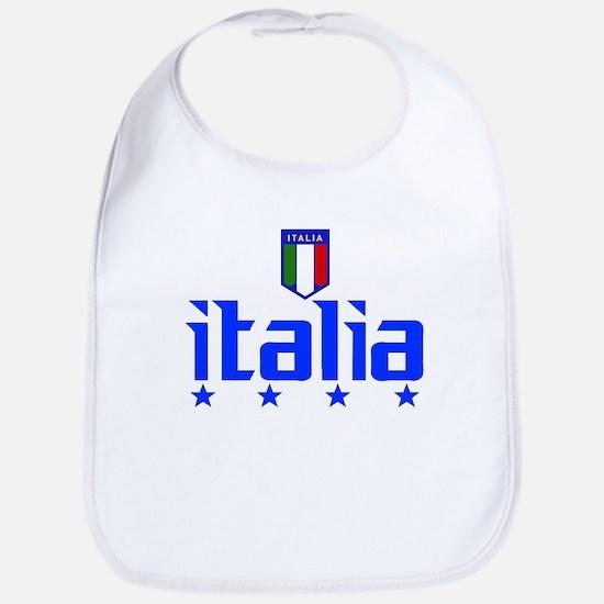 Italia 4 Star Italian Soccer Bib