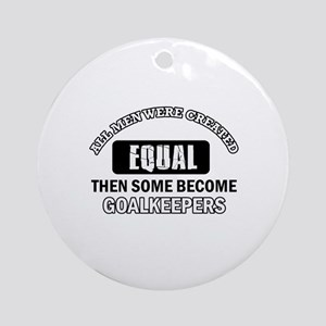 Goalkeepers Designs Ornament (Round)