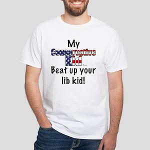 CKid beat up White T-Shirt