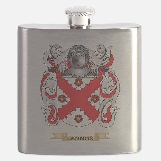 Lennox Coat of Arms - Family Crest Flask