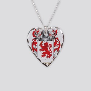 Leo Coat of Arms - Family Cre Necklace Heart Charm