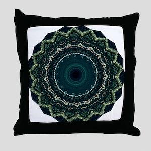 Stylish Creative Green Designer Throw Pillow
