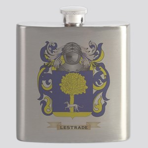 Lestrade Coat of Arms - Family Crest Flask