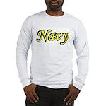 Yellow and Black Navy Long Sleeve T-Shirt