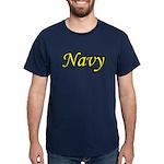 Yellow and Black Navy Dark T-Shirt