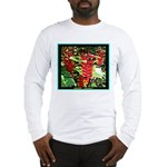 Hawaiian Torch Heliconia lower Long Sleeve T-Shirt