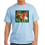Hawaiian Torch Heliconia lower Light T-Shirt