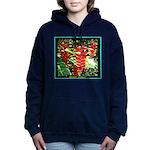 Hawaiian Torch Heliconia lower Hooded Sweatshirt
