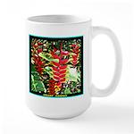 Hawaiian Torch Heliconia lower Large Mug