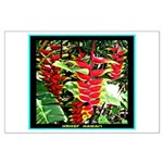 Hawaiian Torch Heliconia lower Large Poster