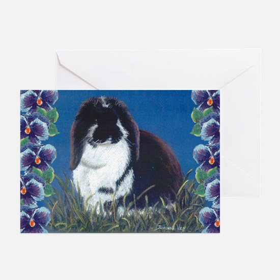 French Lop Bunny Greeting Cards (Pk of 10)