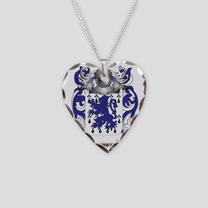 Libby Coat of Arms - Family C Necklace Heart Charm