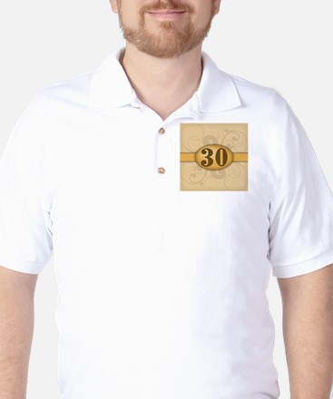 30th Birthday / Anniversary Golf Shirt