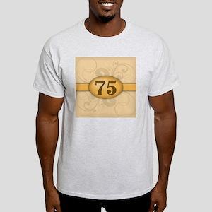 75th Birthday / Anniversary Light T-Shirt