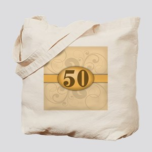 50th Birthday / Anniversary Tote Bag