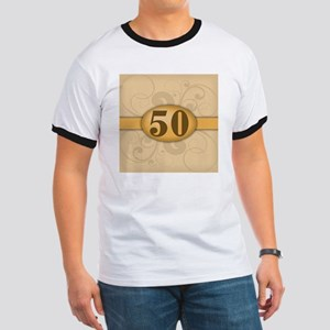 50th Birthday / Anniversary Ringer T