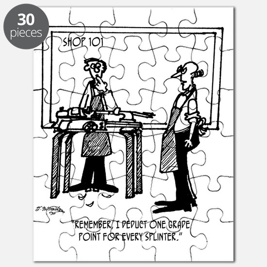 Deduct From Grade For Every Splinter Puzzle