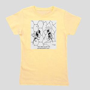 Bee Skips Geometry Class Girl's Tee