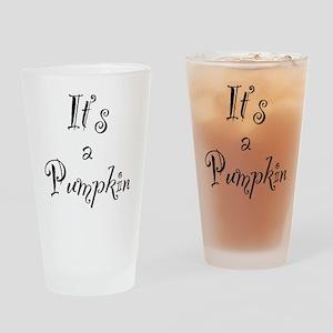 Pumpkin Drinking Glass