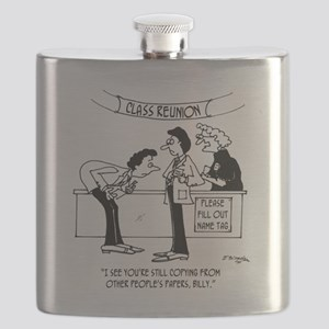 Cheating at School Reunion Flask