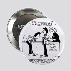 "Cheating at School Reunion 2.25"" Button"