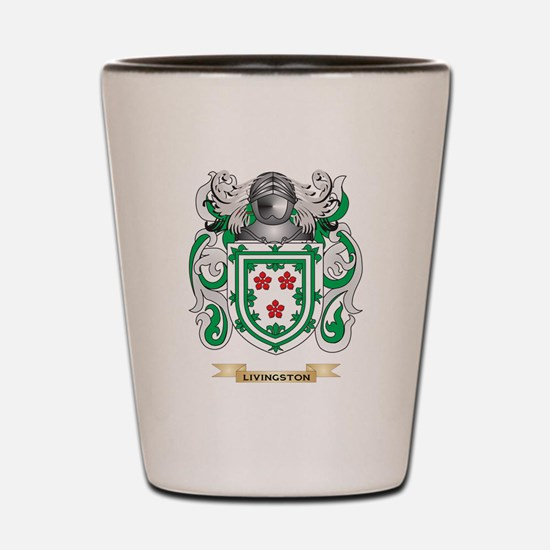 Livingston Coat of Arms - Family Crest Shot Glass