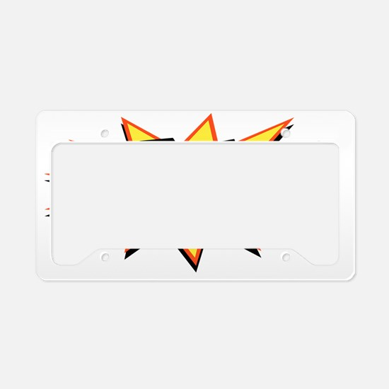 bam3-CAP License Plate Holder