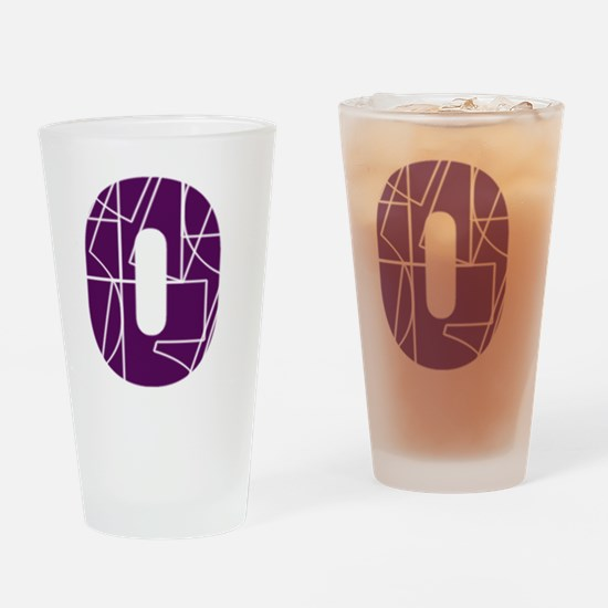 ls-front-cnumber Drinking Glass