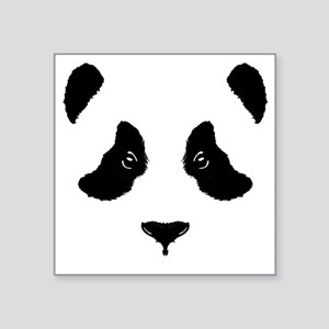 "6x6-for-wt_panda Square Sticker 3"" x 3"""