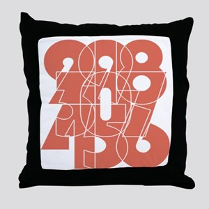 lpk_cnumber Throw Pillow