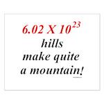 Mole hill Small Poster