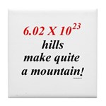 Mole hill Tile Coaster
