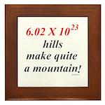 Mole hill Framed Tile